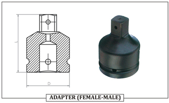 ADAPTER ( FEMALE- MALE )