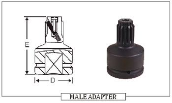 MALE ADAPTER