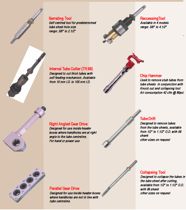 Tube Removal & Installation Accessories